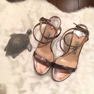 Jimmy Choo Strappy Wedges Size 39